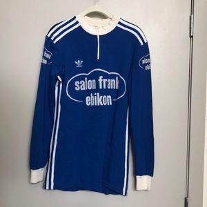 Vintage German Adidas Cycling shirt